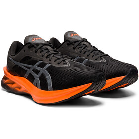 asics Novablast Schoenen Heren, black/marigold orange